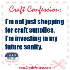 #CraftConfession