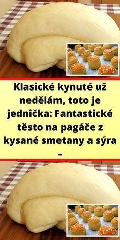 Slovak Recipes, Baking Recipes, Cantaloupe, Pizza, Sweet Treats, Food And Drink, Menu, Bread, Fruit