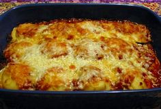 Our own Ravioli Lasagna  More at: MyLasagnaRecipe.com  #Lasagna #lasagne #recipes #pasta