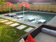 Pool - contemporary - pool - houston - Cat Anderson Design