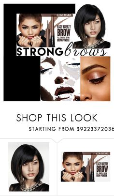 """""""Fast and Furious Brows"""" by emmalineavery ❤ liked on Polyvore featuring beauty"""