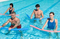 Great water exercises that you can do in the pool!