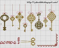 Sana's keys part 2 pattern