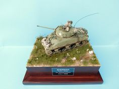 M 4 A 1 Sherman 1St. Armored Division ITALY 1944