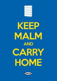 THE LAST 'KEEP CALM AND CARRY ON' SPOOF POSTER.