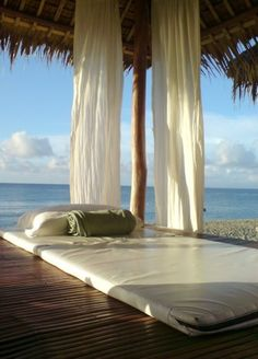 Cabana on the beach | Most Beautiful Pages