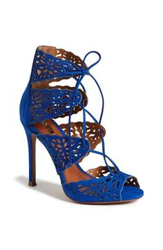 'Ciara' Perforated Sandal