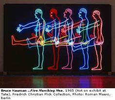 BruceNauman's Five Marching Men