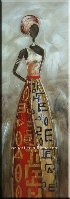 Image result for african clothing painting