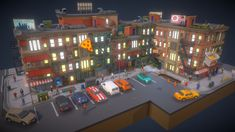 POLYGON - City Pack preview by Synty Studios