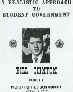 @greathistory posted to Instagram: Clinton ran for president of the Student Council while attending the School of Foreign Service at Georgetown University....Clinton at Georgetown 1967 - Bill Clinton - Wikipedia . LOOKING FOR A GREAT VIDEO LESSON ON THE 1990s, CLINTON, OR THE PRESIDENCY? . Dive deep into the 1990s with these American Experience Clinton worksheets designed to go with the acclaimed PBS video. Includes more than 200 multiple choice questions, all in video order, to help students fo American Presidents, Us Presidents, American History, Georgetown University, University College, Clinton Campaign, Campaign Posters, Student Council, Running For President