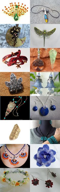 Beautiful jewelry! by AneleArt on Etsy--Pinned+with+TreasuryPin.com