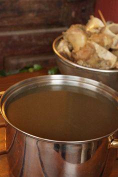 pho broth--use mushrooms instead of beef bones to make it vegetarian and keep the umami flavor.