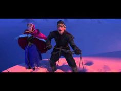"""Disney's Frozen """"That Happened"""" clip. When Anna and Kristoff are trying to escape Marshmallow, the giant snow monster Elsa sent to chase them away. Frozen Disney, Disney Pixar, Walt Disney, Great Disney Movies, Disney Music, Disney Dream, Disney Love, Book Tv, Disneyland Paris"""