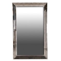 This large faceted frame mirror offers a glamorous design. The mirror will reflect the light and project it around your room. Tall Mirror, Round Wall Mirror, Floor Mirror, Round Mirrors, Sweetpea And Willow, Art Deco Mirror, Custom Mirrors, Mirrored Furniture, Venetian Mirrors