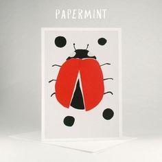 """Image of Lady bird - """"Lost your spots?"""" by Papermint cards #ladybird #papermint #illustration #mothers_day_card #kids_happy_birthday_wishes #cards_for_kids #mothers_day_greetings_messages #greeting_of_the_day #grusskarten_bilder #web_grußkarten #kinder_geburtstag_karten #glückwünsche_zum_geburtstag_kinder"""
