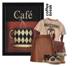 """""""Caffeine Fix: Coffee Break"""" by shambala-379 ❤ liked on Polyvore featuring CO, Moschino, The Sak, Reiss, Dolce&Gabbana, polyvoreeditorial, polyvorecontest and coffeebreak"""