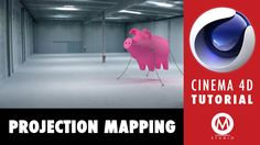Cinema 4D Tutorial: Learn Projection Mapping in 7 minutes