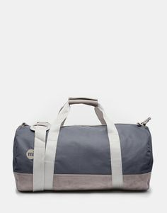 Shop Mi-Pac Classic Barrel Bag In Grey at ASOS. Barrel Bag, Gym Bag, Fashion Online, Asos, Stylish, Grey, Classic, Shopping, Fit