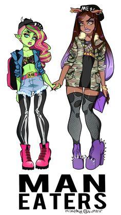 Eco Punk ~ Monster High: Photo