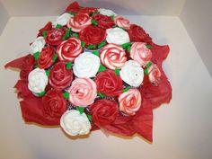 Cupcake Bouquet  www.facebook.com/AbsolutelyCake or www.absolutelycake.com