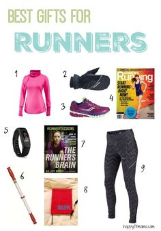 find the best gifts for the runners on your christmas gift list with my top idea