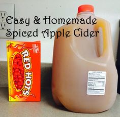 The Appalachian Rose: Easy & Homemade Spiced Apple Cider