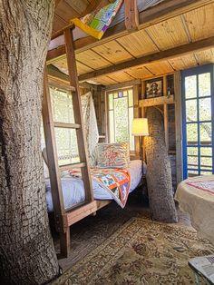 Treehouse bedroom - Swiss Family Robinson dreams