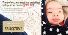 Just 3 days to go! Keep your baby warm and protected this winter, and get 50% off while you're at it. Get your deal in 3 easy steps: Use coupon code 55UQ78V2 for 50% off. This offer will expire February 6th.