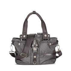 Handtasche Evil Chique, Karabiner, Nylon, George Gina & Lucy