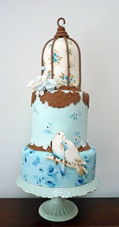 Картинка с тегом «birds and cake»
