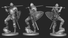 """ArtStation - """"knight"""", Laslo Forgach"""