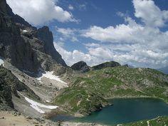 Lago Coldai - Monte Civetta, Dolomites, province of Belluno, Veneto, Northern Italy
