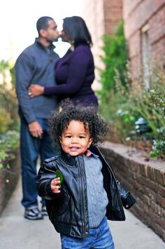 Black love and family are beautiful!