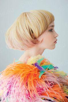 Vivid color // Hair art