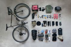 A bike packing list can be minimal or extensive. It should take into account day… A bike packing list can be minimal or extensive. It should take into account days in the saddle, miles between stops, and possible combinations of weather. Cycling Workout, Cycling Bikes, Udaipur, Velo Quebec, Mtb, Rando Velo, Touring Bike, Touring Bicycles, Courses