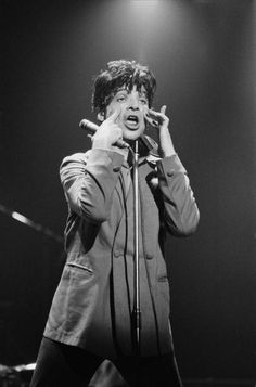 Singer Alan Vega of American band Suicide performs on stage at the Apollo Theatre in Manchester England on July 02 1978 Apollo Theater, Theatre, Cummins, Manchester England, Music People, Music Film, Rock, Live Music, Stage