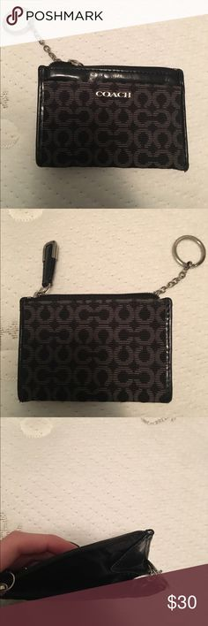 Coach chain purse Black coach chain purse. Great condition Coach Bags Wallets