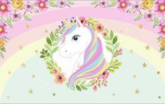 Unicorn Wallpaper Cute, Henna Kit, Unicornios Wallpaper, Baby Looney Tunes, Unicorn Printables, Nursery Paintings, Rainbow Decorations, Best Friends Forever, Kawaii