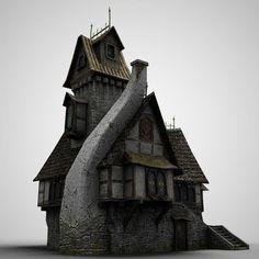 maya old house - old House 3 by bemola