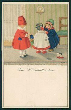 Artist Signed Pauli Ebner Children MM Vienne serie 878 postcard TC2374 | eBay