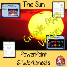 Distance Learning, The Sun of our Solar System Lesson. These Google Slide, resources teach children about the Sun in one complete lesson. There is a detailed 24 slide presentation on the size of the Sun, the life of the Sun, different types of stars and understanding an eclipse. There are also differentiated, 8 page, Google Slides worksheets to allow students to demonstrate their understanding.