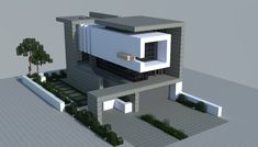 minecraft urban house - Google Search