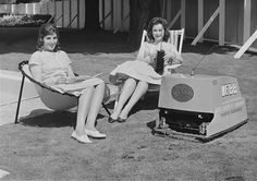 Image: Radio Controlled Lawn Mower In Paris On May 1960 (© Keystone-France/Gamma-Keystone via Getty Images) 'Lift your legs or lose your toes, ma cherie.' A radio-controlled lawn mower in Paris in 1960.