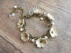hana bracelet  ivory by kikosattic on Etsy, $39.00