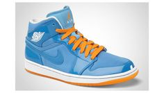 Jordan I Phat Italy Blue/Vivid Orange