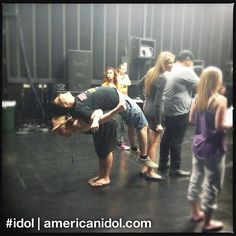 Choreographer Tabitha D'umo was probably not envisioning this when she paired up Heejun and Erika. #idol