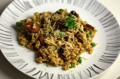 Recipe: Chorizo and Pea Risotto - The Yarn Pork Recipes, Healthy Recipes, Healthy Food, Chorizo Sausage, Risotto Recipes, Frozen Peas, Perfect Food, Quick Easy Meals, Food To Make