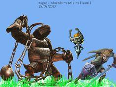 """""""los-peores-enemigos"""" esta realizada con los siguientes pinceles: Dark Hammer-Zelda-Metropolis92, Link TP 2-Zelda-Metropolis92, Midna-Zelda-Metropolis92, Grass09,Grass14,Grass21, Grass11, Grass24, Grass 16. Fuente: Sans numero 30. Medidas: 1024x768 pixeles. Orientacion: Horizontal"""