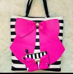Betsy Johnson bag so cute and girly